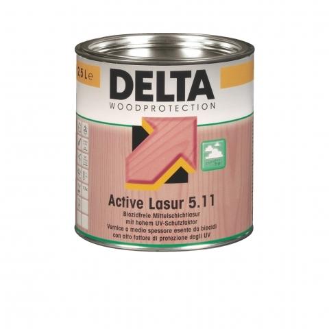 DELTA Active Lasur 5.11 - oldószeres középvastag lazúr