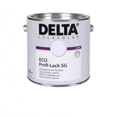 DELTA Eco Profi-Lack SG, selyemfényű fehér zománcfesték
