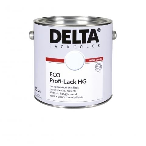 DELTA Eco Profi-Lack HG, fényes fehér zománcfesték
