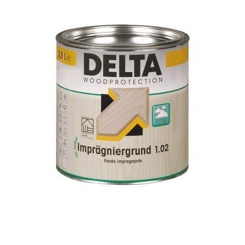 DELTA Impregniergrund 1.02 - oldószeres kültéri favédő alapozó