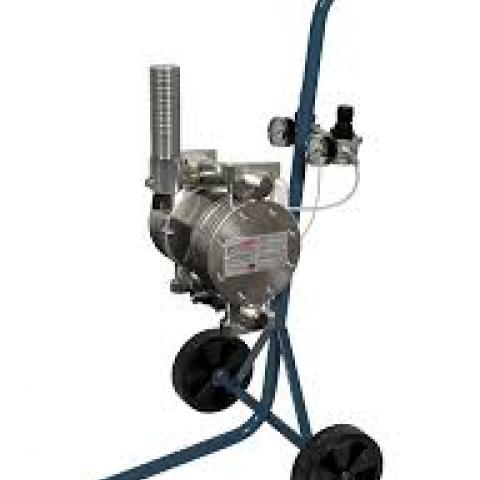 VS 25 SZETT: membrános pumpa, szórópisztollyal dupla nyomócsővel